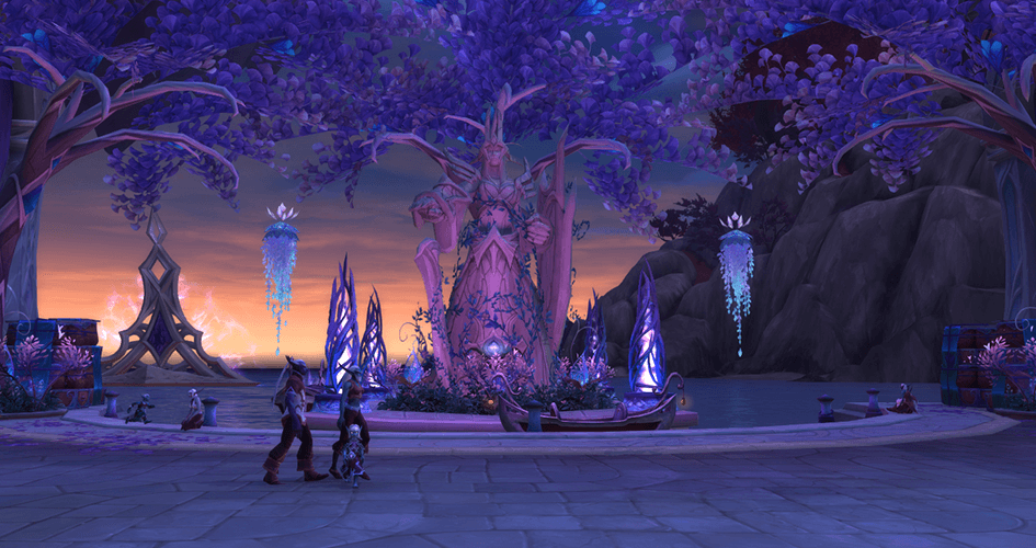 Nightstalking: a look at Suramar as a functioning city