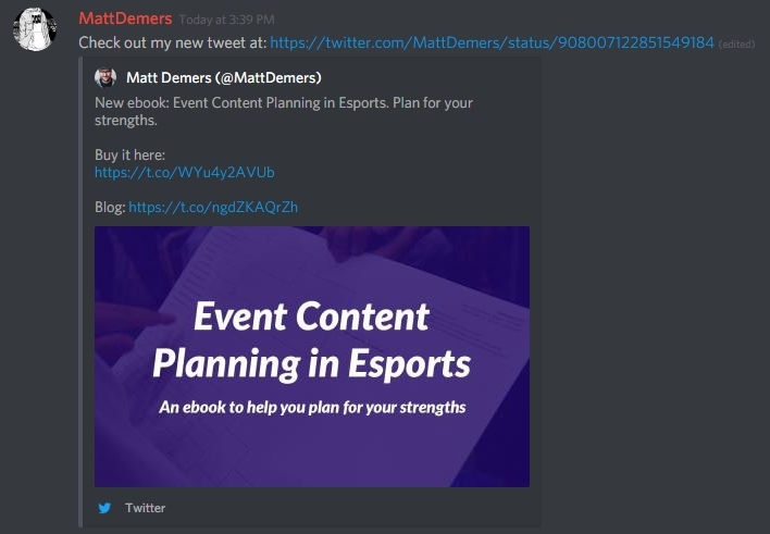 Tutorial: Automate Discord to post your new content