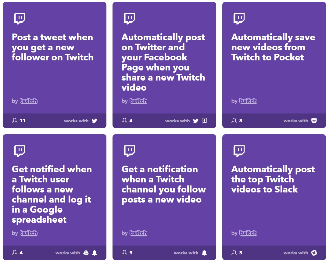 Tutorial: Using Twitch automation with IFTTT — MattDemers com