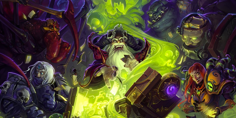 Hearthstone Naxxramas Key Art