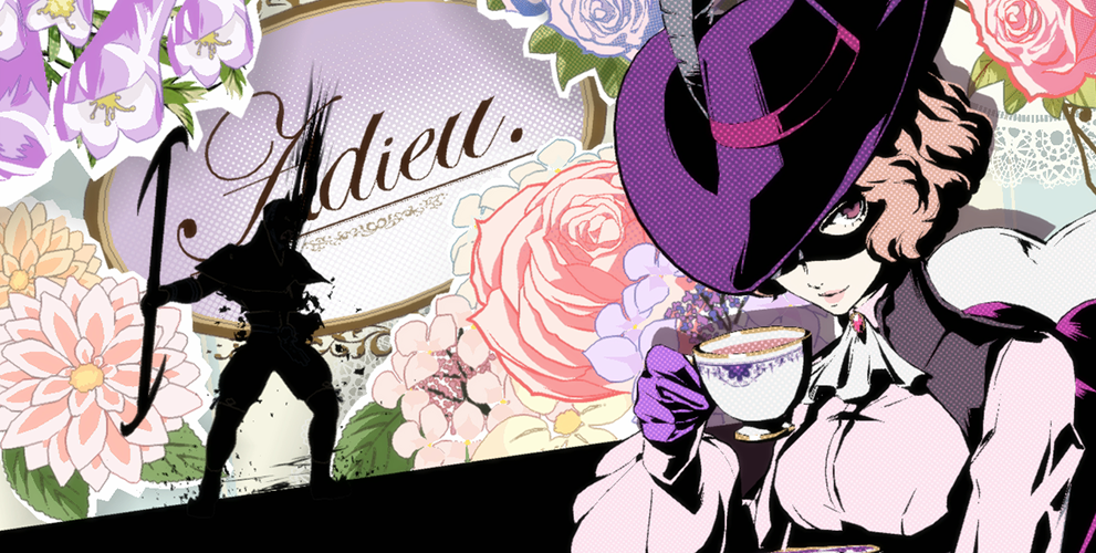 Finding inspiration in games: Adieu, Persona 5