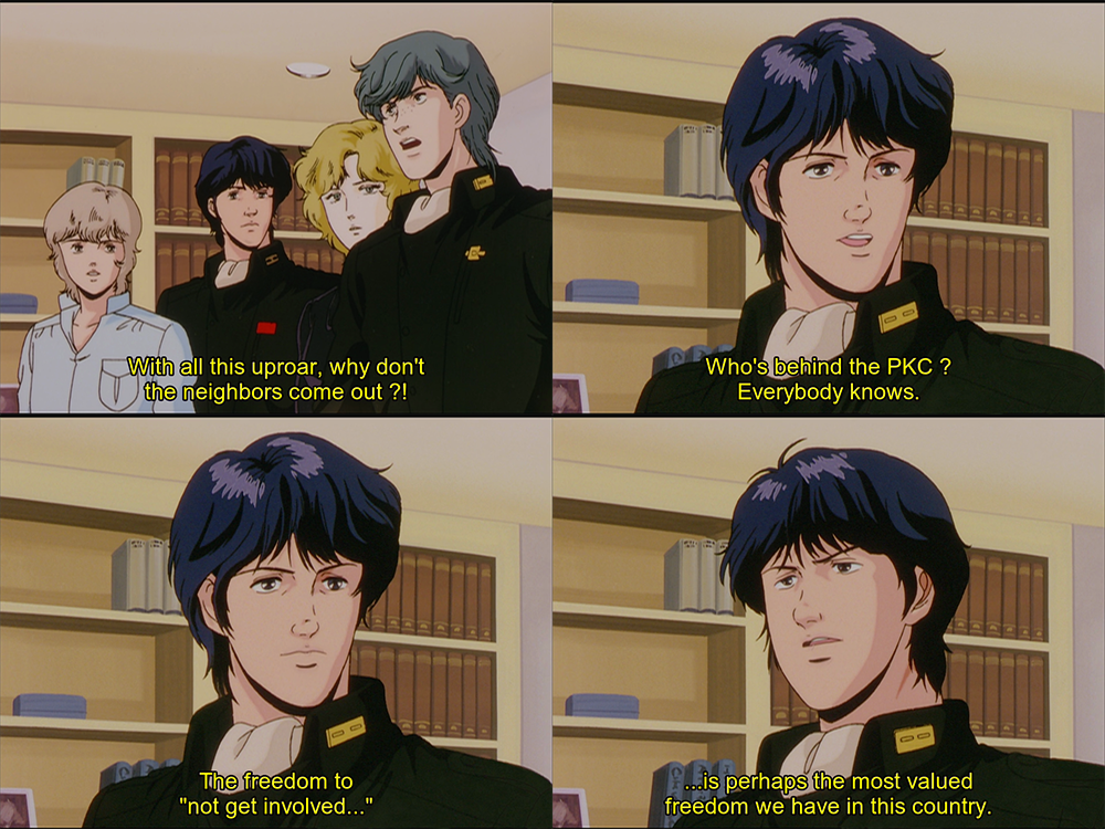 Legend of the Galactic Heroes E03 Freedom to Not get Involved