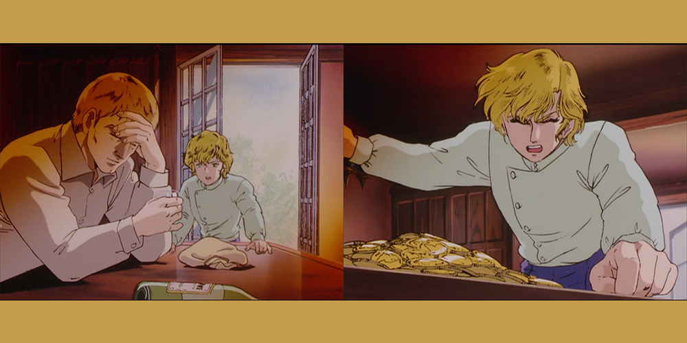 Legend of the Galactic Heroes Episode 04 Reinhard's Dad sells Annerose