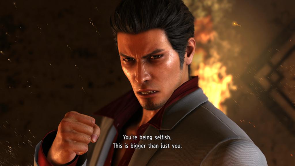 A scene from Yakuza 6 by SEGA.