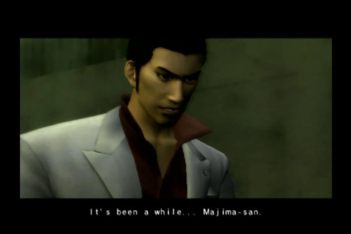 A scene from Yakuza 1 by SEGA.